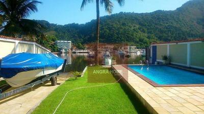 Casa Para Venda E Locação, Praia Da Ribeira, Angra Dos Reis - Ca0265. - Ca0265