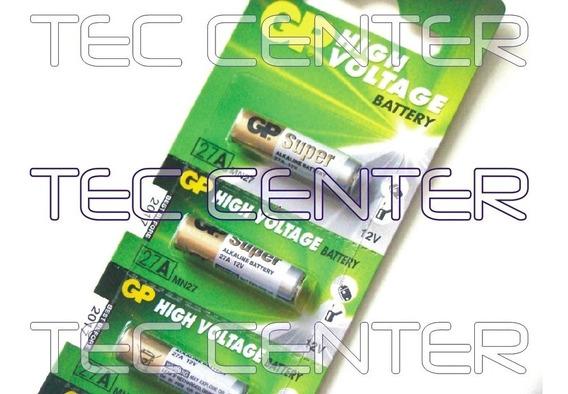 Bateria Pilha P/ Controle De Portão 12v27a Gp Frete R$16,00