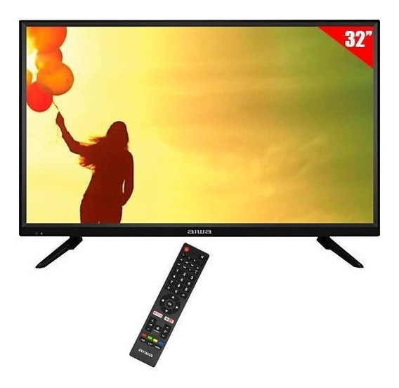 Smart Tv Led 32 Aiwa Aw32b4sm Hdmi/usb/porta Ethernet