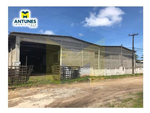 Imagem 1 de 5 de Vende Galpão Em Construção Prazeres, Com 2.200 M² Construida - Gv-0012