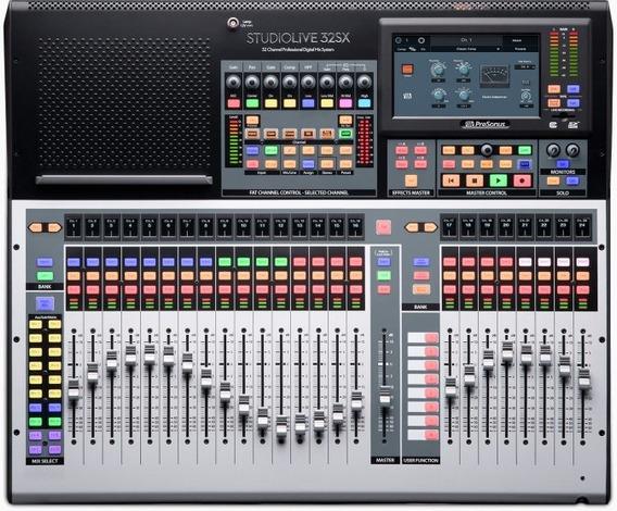 Consol Presonus Studio Live 32sx Nueva