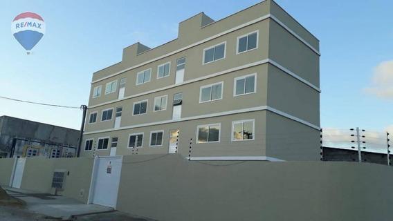 Apartamento Novo No Potira Em Caucaia - Ap0248