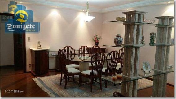 Apartamento Com 3 Dormitórios À Venda, 197 M² Por R$ 819.000,00 - Vila Bastos - Santo André/sp - Ap0172