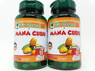 2 Mana Cubiu 90 Cáps Vegano 500mg Fonte Vit B6 Zinco