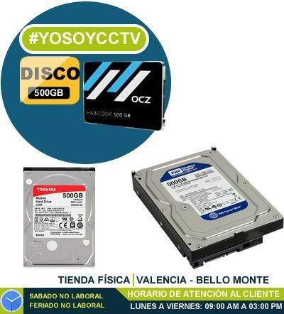 Disco Duro Interno De 500 Gb Para 3.5 Sata Computador O Dvr