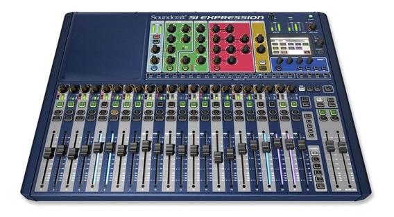 Mezcladora Digital Soundcraft 24 Canalesdsp Si Expression Ii