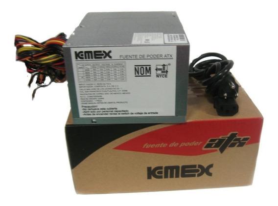 Fuente De Poder Pc 450 Watts Kemex
