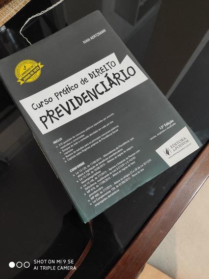 Livro Curso Prático De Direito Previdenciário. 14 Edição