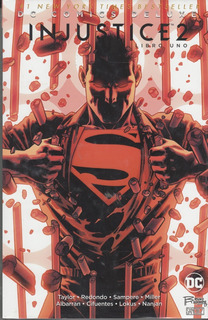 Comic Dc Comics Deluxe Injustice 2 Libro Uno Sellado Nuevo