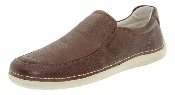 Sapato Masculino Sharp Democrata - 175101 Tabaco