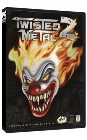 Twisted Metal 2 - Pc Dvd - Mídia Física - Frete 8 Reais