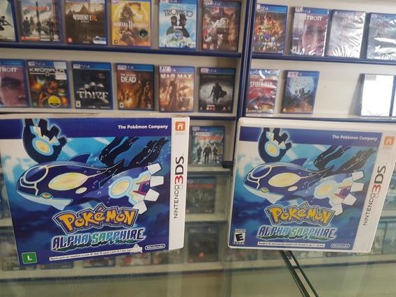 Pokemon Alpha Sapphire Original Case Luva Nintendo 3ds