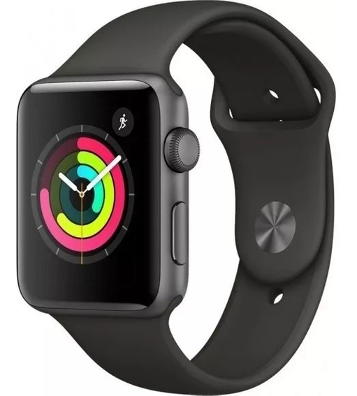 Relógio Apple Watch Serie 3 42mm - Cor: Cinza