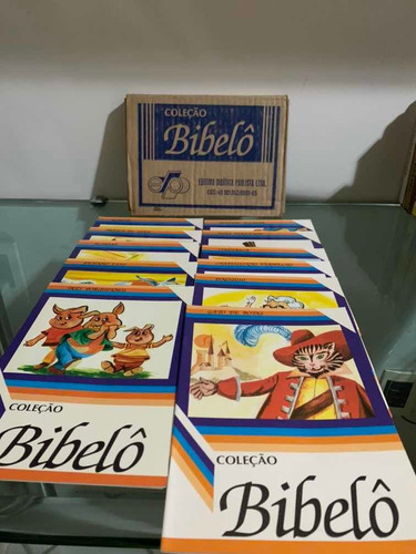 Kit Com 10 Coleções Bibelô Com 11 Volumes Cada