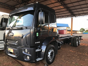 Ford Cargo 2428 Truck Reduz Cabine Leito Teto Alto Com A/c