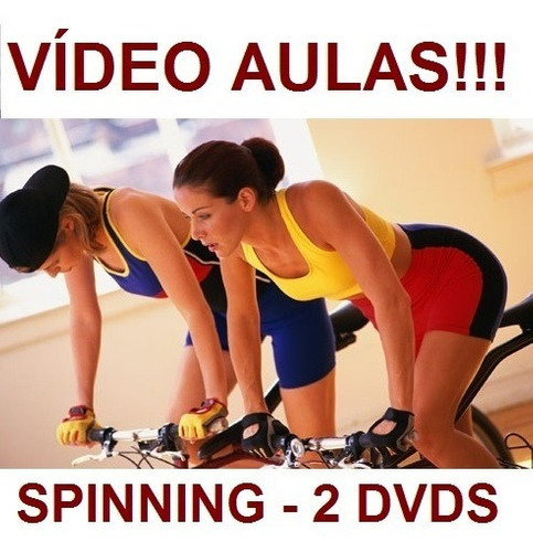 Spinning!!! Aulas De Spinning 2 Dvds! Receba Com Segurança