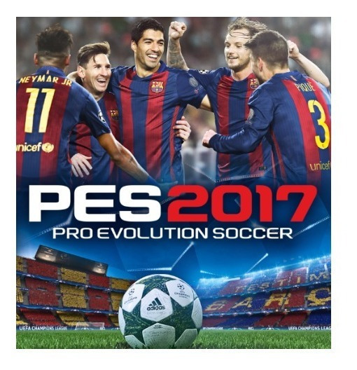 Pro Evolution Soccer 2017 - Pc-dvd- (midia Fisica)