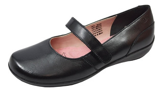 Zapato Escolar Flat Flexi 8-17227 Niña Negro Rudos