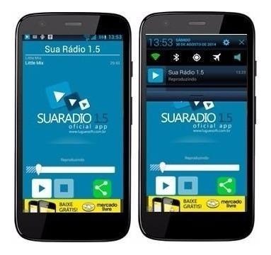 Código Fonte Aplicativo Android Para Web Radio E Radio Fm