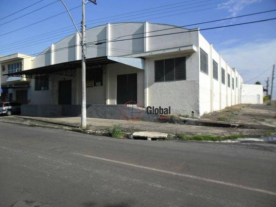 Salão Comercial Para Locação, Jardim Das Palmeiras, Sumaré. - Sl0062
