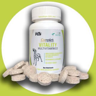Multivitaminico Para Perro 60 Tabletas Masticables Vitaminas