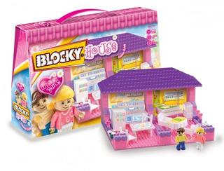 Blocky House Cocina Y Living 90 Piezas Original Nuev Bigshop