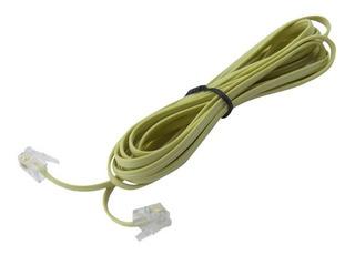 Cable Extension Alargador Telefono Fijo Rj11 3m