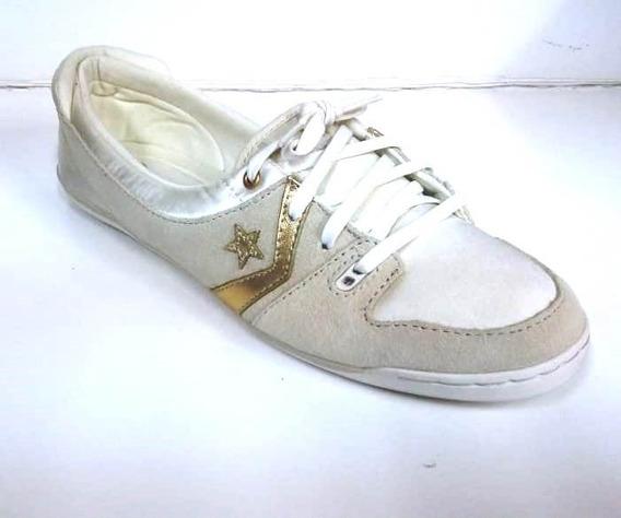 Zapatilla Converse Half Court 508618 Tiza/dorado Dep