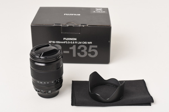 Lente Fujifilm Fujinon Xf 18-135mm F3.5-5.6-4 R Lm Ois W