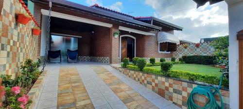Casa Em Balneário Três Marias, Peruíbe/sp De 157m² 3 Quartos À Venda Por R$ 450.000,00 - Ca991597