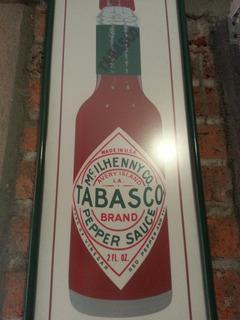 Cuadro Clasico De Salsa Tabasco