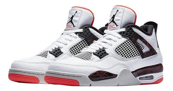 Tenis Jordan 4 Retro Hot Lava Original Envio Gratis