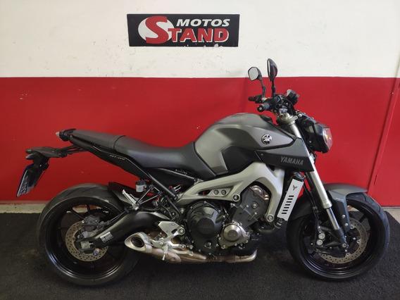 Yamaha Mt-09 Mt09 Mt 09 850 Abs 2016 Cinza