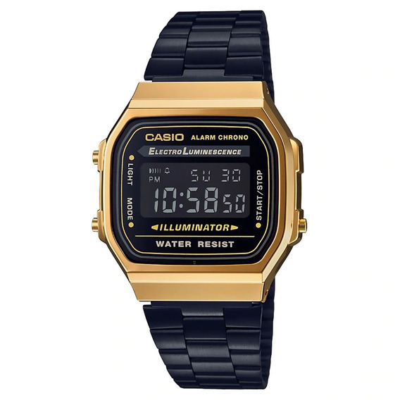 Nuevo Reloj Casio Vintage Original A168wegb-1bvt E-watch