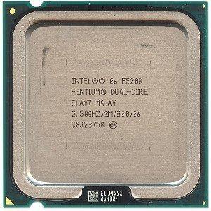 Procesador Intel Dual Core E5200 2.5g 2mb 800 Socket 775