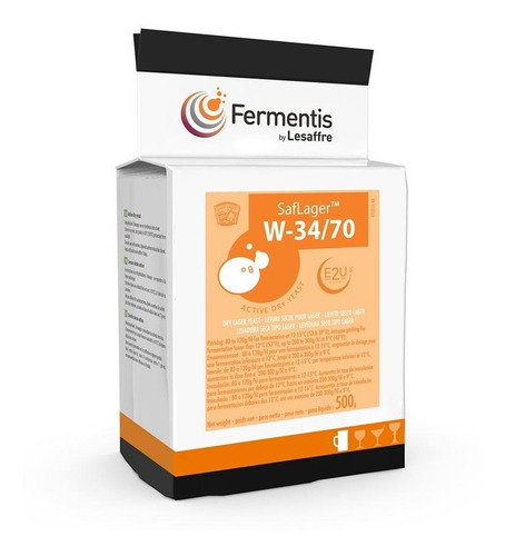 Levadura Fermentis Saflager W34/70 X 500 Gr