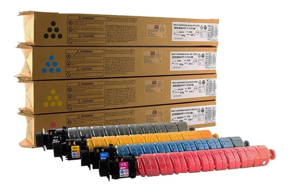 Kit Toner Ricoh Mp C2503 C2003 C2504 C2004 - Compativel