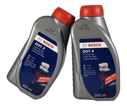 2 Fluídos De Freio Bosch Dot4 Para Hyundai I30