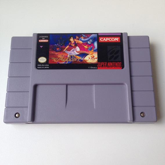 Fita Aladdin Original - Super Nintendo - Snes