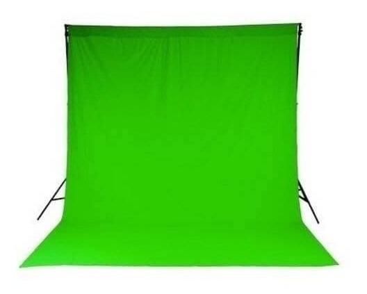 Tecido Chroma Key Verde 3m X 1,80m - Gravação Estudio