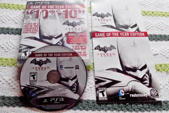 Batman: Arkham City - Ps3