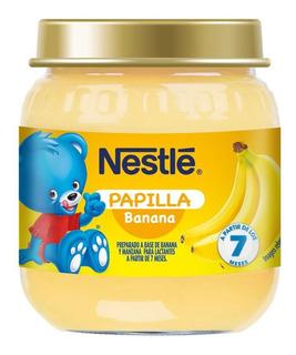 Papilla Banana Nestle X 113 Gr