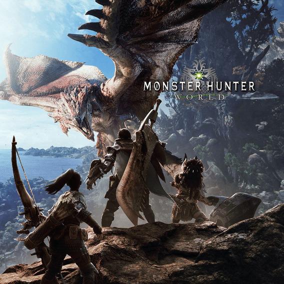 Monster Hunter World Pc Dvd Mídia Física + 1 Brinde