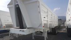 Remolques Tipo Volteo 30m3 2 Ejes Super Promocion Gondola