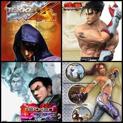Ps2 - Tekken - 3 Dvds - Patch Desbloqueado