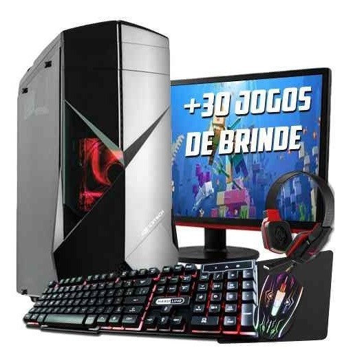Pc Gamer Core I5 9400f .16gb, Gtx1660 6gb+monitor 21 Full Hd