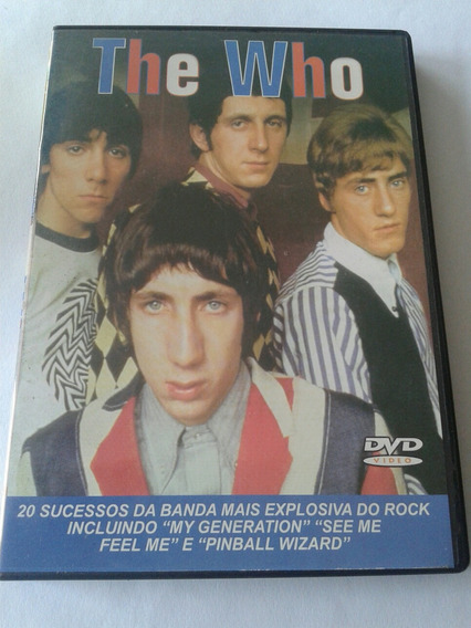 The Who Dvd Excelente Estado