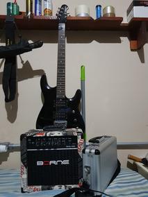 Guitarra Gbs Pró ( Jhon Petrucci) Pedaleira E Amplificador