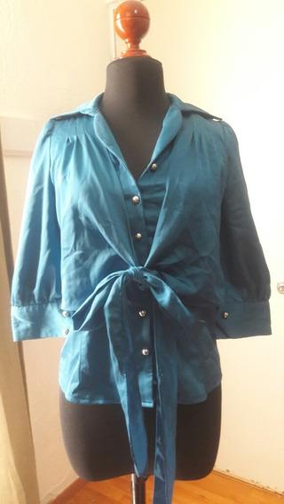 Padrisima Camisa De Botones Talla S/m