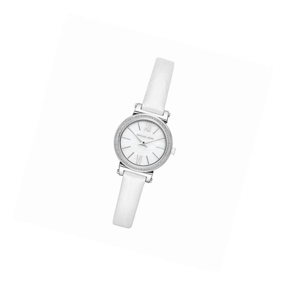 Michael Kors Watches Womens Sofie Stainless-steel And White
